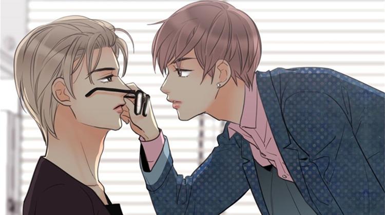 经典韩国CP《印迹/爱痕》漫画,请不要伤害小奶狗